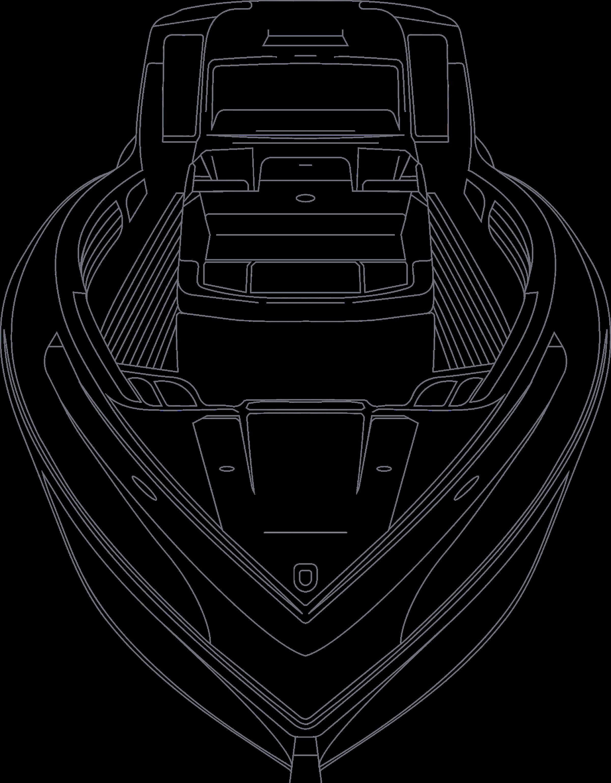 boat schematic